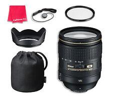 Nikon AF-S NIKKOR 24-120mm f/4G ED VR Lens Bundle for Nikon DSLR Cameras