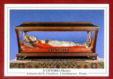 SANTINO SANTA VITTORIA MARTIRE IMAGE PIEUSE - HOLY CARD-  Heiligenbild