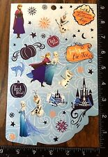 FROZEN HALLOWEEN BY DISNEY, ANNA, ELSA AND OLAF, ONE SHEET STICKERS #DULCE9