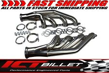 LS Turbo Exhaust Manifold Headers V-Band Stainless LS1 LS2 LS3 LQ4 ICT Billet