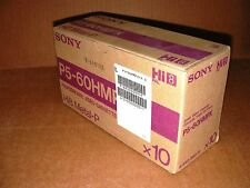 10 Stck. Hi8 Kassetten Sony P5-60HMPX 8mm Video Cassette Metal-P NEW!!!