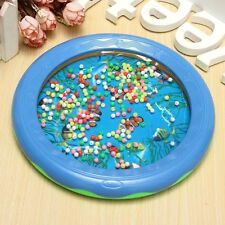 Ocean Wave Bead Drum Gentle Sea Sound Musical Educational Toy for Baby Kid NEW