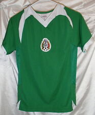 Mexico Champion's League Soccer Jersey Youth Size Small Green Sewn