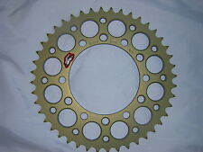 Yamaha R1 1998 2014 44T b 520 Renthal Ultralight Rear Sprocket  New