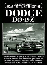 Dodge 1949-1959 (Brooklands Road Test Limited Editions)