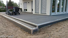WPC TERRASSENDIELEN WPC DIELEN TERRASSENDIELEN KOMPLETTBAUSATZ WPC HOLZ TERRASSE