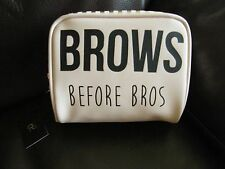 PRIMARK BROWS BEFORE BROS MAKE-UP BAG BNWT PINK BLACK GOLD BLOGGERS FREE POST