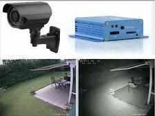 Nachtsicht Zoom Überwachungskamera Sony700TVL Mini DVR SD-Card Aufnahme + Reader