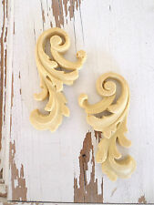 ARCHITECTURAL FURNITURE APPLIQUES Onlays Wood Resin FLEXIBLE & STAINABLE **NEW**
