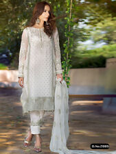 Punjabi Churidar Bollywood Designer Indian Embroidery Salwar Kameez Shalwar Suit