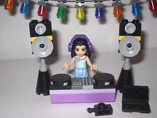 Lego DJ Emma with Stand and Equipment Heartlake Shopping Mall 41058