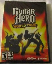 Guitar Hero: World Tour - PC/Mac (Game Only)- JOB LOT 12 PIECES - NEW & SEALED