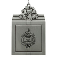 United States Naval Academy -Pewter Christmas Holiday Ornament-Silver