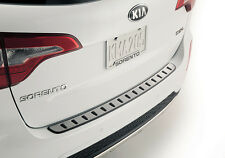 OEM 2015 2014 Kia Sorento STAINLESS STEEL REAR BUMPER SCUFF PROTECTOR Step Pad