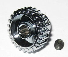 Duralumin 23 Tooth Pinion Gear for 3.17 mm Shafts - 48 Pitch - 23T - 3.17mm