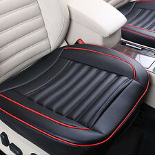 Breathable PU Leather Car Seat Cover Pad Protect Mat F Auto Chair Cushion Black