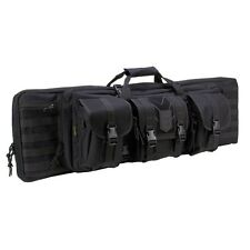 "3V GEAR RANGER 42"" PADDED DOUBLE GUN CASE SHOTGUN CARBINE SNIPER DRAG BAG MOLLE"