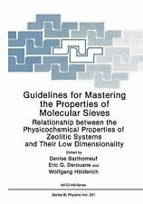 Guidelines for Mastering the Properties of Molecular Sieves: Relations-ExLibrary