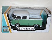 Motor Max-Vw Volkswagen tipo 2 (T1) entrega/recogida (verde) escala modelo 1:24
