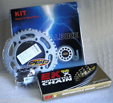 HONDA MBX 125 F 1984   1985 PBR / EK CHAIN & SPROCKETS KIT 520 PITCH