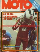 MOTO JOURNAL  179 Kreidler 500 Godier Genoud Grand Prix Belgique Phil READ 1974