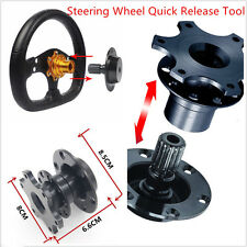 Universal Car Steering Wheel Quick Release HUB Racing Adapter Snap Off Boss pop