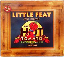 Little Feat - 40 Feat: The Hot Tomato Anthology 1971-2011 (CD 2011) 3 Disc Set