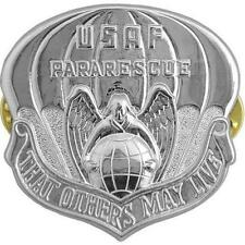 USAF Air Force Badge Pararescue Regulation Size (Made in USA)