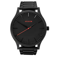 MVMT Watches 40 Series BLACK STAINLESS STEEL Strap Men's Watch Man SALE