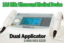 Current Solutions SoundCare Plus Ultrasound Therapy with 2 Sound Heads 1 & 3 Mhz