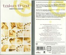 RARE / K7 VIDEO - TAKE THAT / ROBBIE WILLIAMS : EVERYTHING CHANGES
