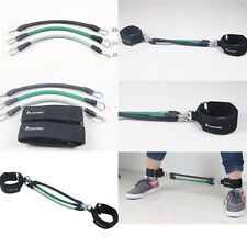 3pcs/set Leg Thigh Resistance Band Fitness Exercise Latex Tube Ankle Straps GYM