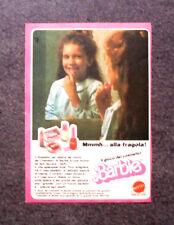 K825-Advertising Pubblicità-1982- BARBIE ROSSETTO PER LABBRA