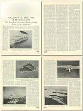 1923 Aircraft To Foil The Dope Smuggler In Canada Old Article