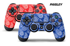 Dual Skin Sticker Wraps 2 Pack PS4 Playstation 4 Remote Controller Decals PAISLY