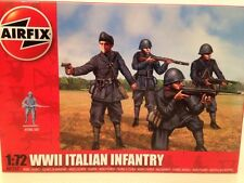 Airfix A01757 WWII Italian Infantry  1:72 Scale New 48 Unpainted Pieces