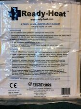 "ONE NEW READY-HEAT 4-PANEL HEATED BLANKET 36x48"" Emergency/Survival S4RHMD"