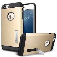 "Case Hülle Cover for iPhone 5/5s mit Kick-Stand ""Gold"""