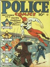 POLICE COMICS QUALITY COLLECTION 120 ISSUES ON DVD
