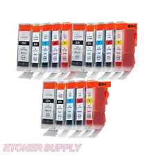 15 NEW Ink Cartridges for CANON Pixma i860 iP4000 MP750 S830 BCI-6 Printer +pen