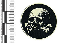 RUSSIAN  ARMY  MILITARY  PATCH  SPETSNAZ  SKULL  AND  BONES  SPECIAL FORCE  SF