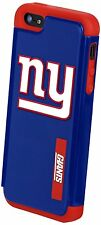 New In Retail Box New York Giants NFL Apple iPhone 5 5s and SE Dual Hybrid Case