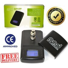 Rad Digital Electronic Mini Scale 0.1g to 500g Weighing LCD Gold Jewellery  UK