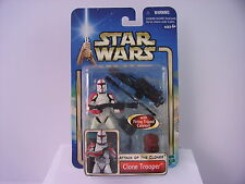 Hasbro star wars clone trooper trépied canon attack of the clones M.O.C 2002