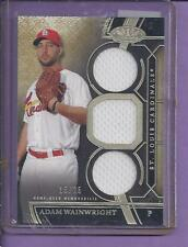 *2015 Topps Tier One Triple Game Used ADAM WAINWRIGHT  cardinals #15/25