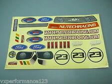 051546 1/5 On Road Decal Nutech Racing FG Sportsline Smartech Carson C5 Touring