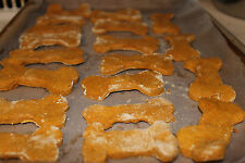 Peanut Butter Dog Treats, Home Baked - 2 Bags, Supporting Dog Rescue Groups!
