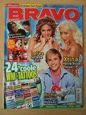 BRAVO 25 14.6. 2006 * LaFee Christina Aguilera Us 5 Tokio Hotel Bushido
