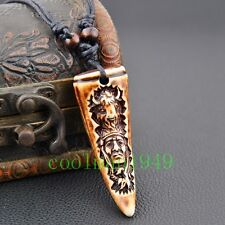 cool MAN BOY Tribe Style Aboriginal bull Necklaces Pendant Necklace RH294