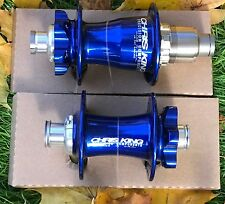 CHRIS KING ISO BOOST XD MTB NAVY Hub Set 32H 110x15 FRONT 148x12 REAR NEW BLUE